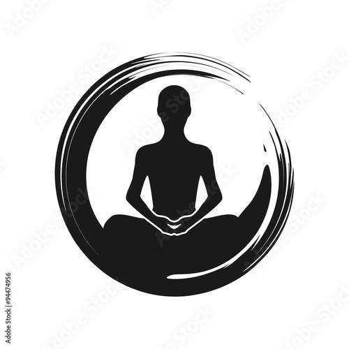 Cuadros en Lienzo  Zen Yoga Meditation