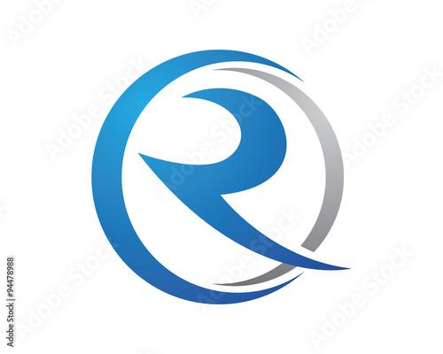 Photo  R Logo Template