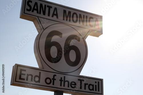 Keuken foto achterwand Route 66 Route 66