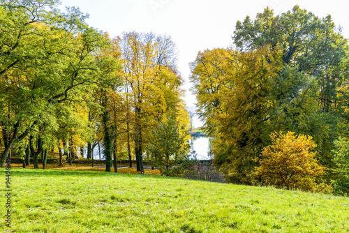 Fototapety, obrazy: Wunderschöne Herbstlandschaft