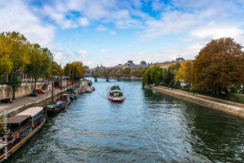 Fotografia  La Seine à Paris