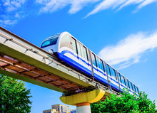 Electric Monorail Train Modern...