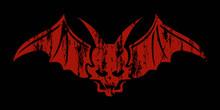 Concept Design Vector , Red Devil