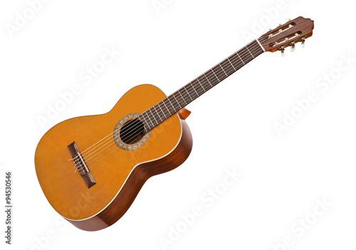Klasyczna gitara akustyczna Fototapeta