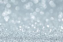 White Shiny Glitter Holiday Amazing Background