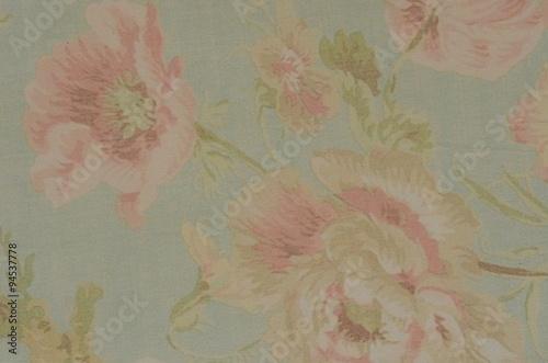 Fotografie, Obraz  Vintage Floral Grunge Tapestry Scrapbook Background