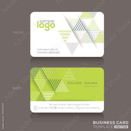 Modern trendy business card design template buy this stock vector modern trendy business card design template reheart Choice Image