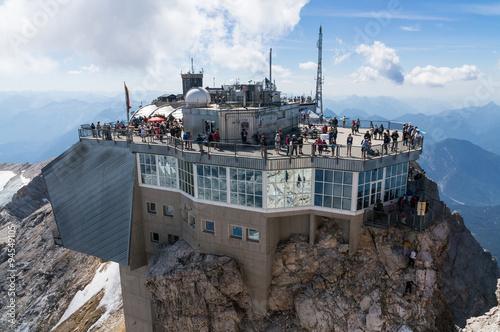 Fotografie, Obraz  Gipfelplateau Zugspitze