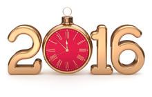 New Year 2016 Beginning Alarm ...