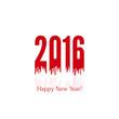 creative happy new year 2016.