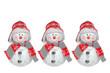 Weihnachtsdeko, Schneemänner
