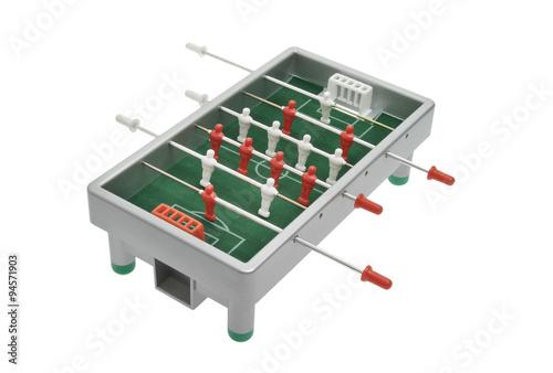 Foto op Plexiglas Kikker Tischfußballspiel Kicker
