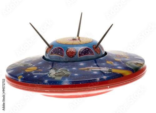 Foto op Canvas UFO UFO Spielzeug