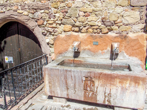 Fotobehang Fontaine fontaine var