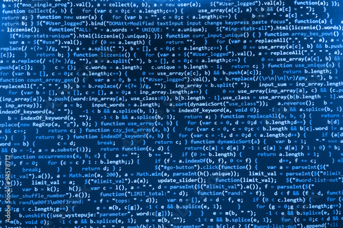 Cuadros en Lienzo Software developer programming code