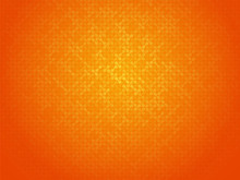 Abstract Orange Linking Dots B...