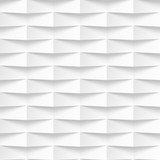White wavy panel seamless texture background. - 94593966