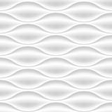 White wavy panel seamless texture background. - 94594751
