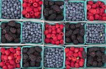 Strawberries Blueberries Blackberries