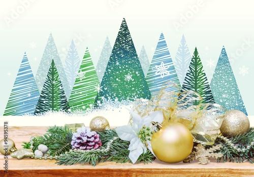 Fototapety, obrazy: Christmas.