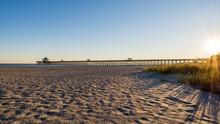 Long Pier At Folly Beach, Char...