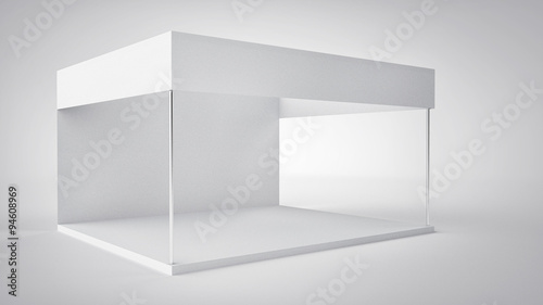 Exhibition Booth Blank : Blank exhibition stand trade show booth isolated buy this