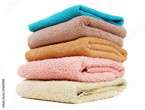 Fotografia  towels closeup