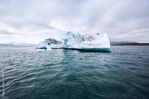 melting iceberg, global warming background