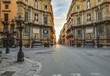 Palermo City in Sicily, Italy. Four Corners