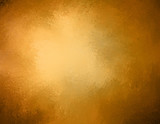 antique brown gold background, shiny warm golden orange hue with brown grunge textured border