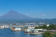 Mount Fuji of Tagonoura Port,Shizuoka Japan