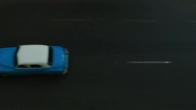 Aerial View On Classic Cars Dr...