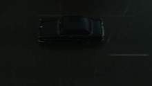 Aerial View Of The Rain Drops On Classic Cars In Havana