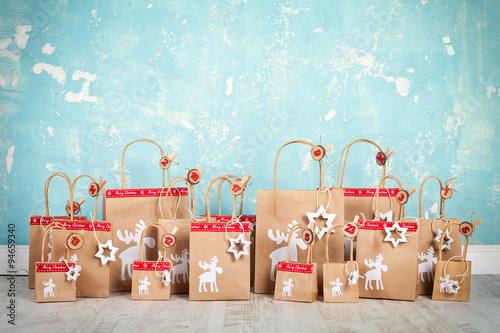 Weihnachtskalender Zum Befüllen Buy This Stock Photo And Explore