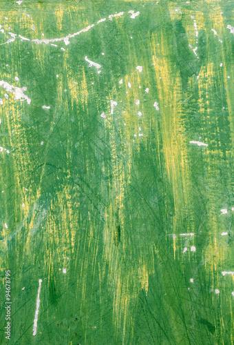 Fototapeten Wald Green paint wall
