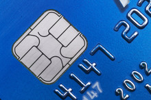 EMV Chip Card Technology Close Up