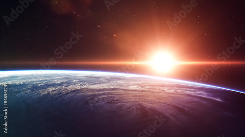 Deurstickers Nasa High quality Earth image. Elements of this image furnished by NASA