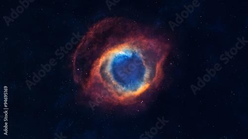 Obraz na plátně Beautiful Nebula and Deep sky Object