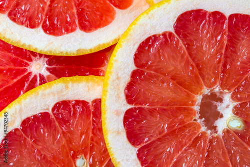 Fotografia  grapefruit background
