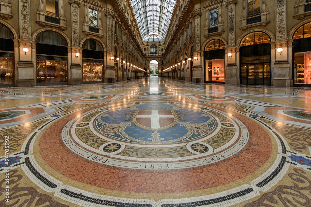 Milano, Galleria Vittorio Emanuele Foto, Poster, Wandbilder bei ...