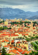 View of Split, the second-largest city of Croatia