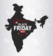 Black Friday Map - India