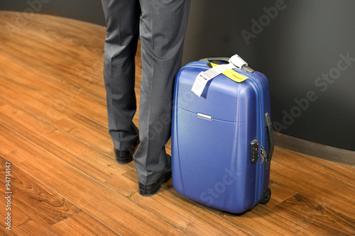 Fotografie, Obraz  Business class passenger at airport check in