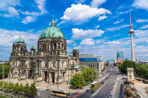 Türaufkleber Berlin View of Berlin Cathedral