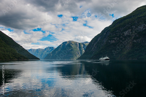 Spoed Foto op Canvas Scandinavië Norwegen
