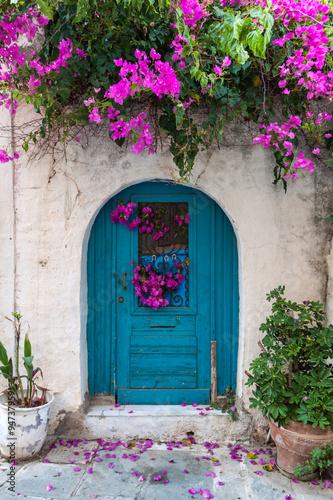 Photo  door to the fairy tale