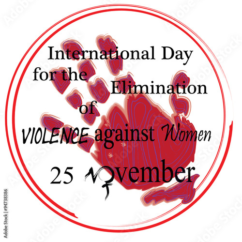 Vector To Celebrate November 25 International Day For The