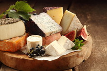 Delicious Gourmet Cheese Platter