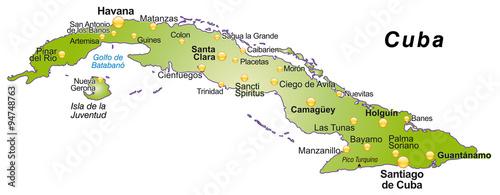 Karte Von Kuba Buy This Stock Vector And Explore Similar Vectors