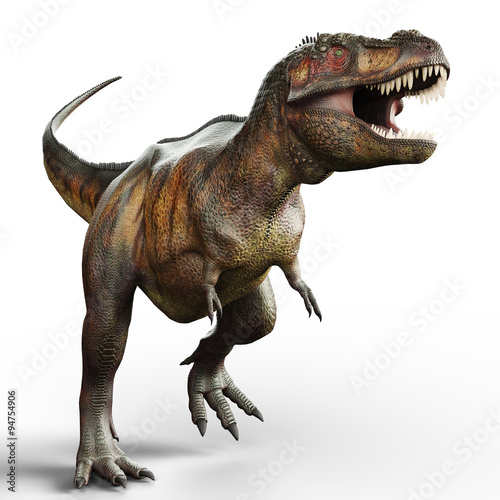Photo  t-rex walking